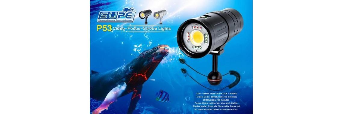 專業潛水攝影燈