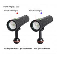 SUPE PV22UV 潛水攝影對焦UV燈